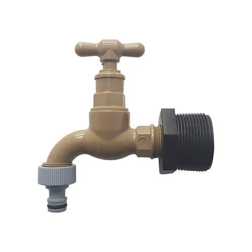 Plastic Water Tank Tap (Easy to Use) | Water Tanks Warehouse